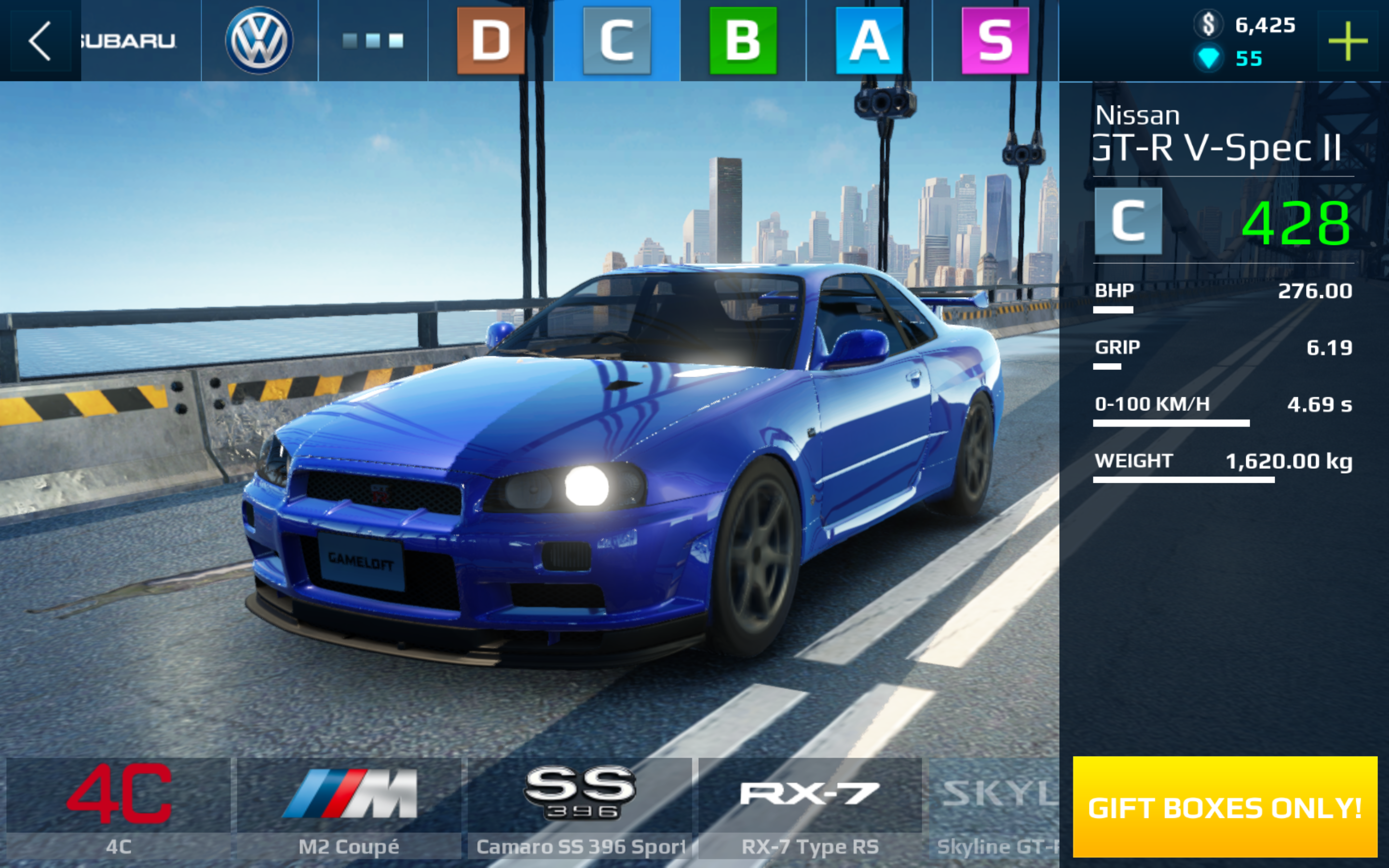 Marvelous The Nissan Skyline GT R (R34) Is Now Correctly Named Nissan Skyline GT R  V Spec II (R34) In This Game. The Skyline Is Purchasable For 420 Diamonds  Or Can Be ...