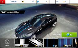 Aston Martin DB9 Coupe Decal 3
