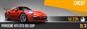 911 GT3 RS Cup