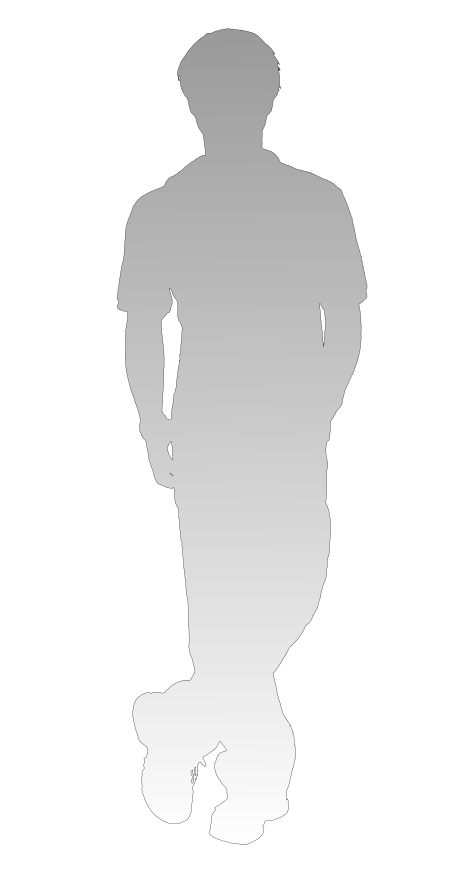 Image Shadow Of Person Standing Leg Cross By Arapng