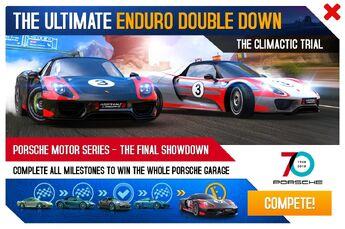 Porsche 918 Spyder WP EDD 70th Anniversary Promo