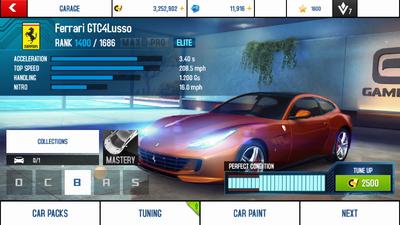 A8A Ferrari GTC4Lusso stock