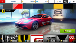 Ferrari FF Decal 8
