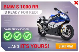 BMW S 1000 RR R&D Promo