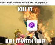 Fusion Coin meme