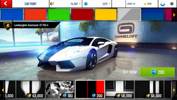 Lamborghini Aventador LP 700-4 Decal 8