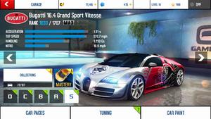 A8A Bugatti Veyron 16.4 Grand Sport Vitesse MAX