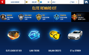 Sunset Season 1 Elite League Rewards
