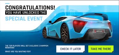 Zenvo TS1 Event Unlock