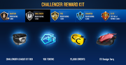 ED Design Torq Challenger League Rewards