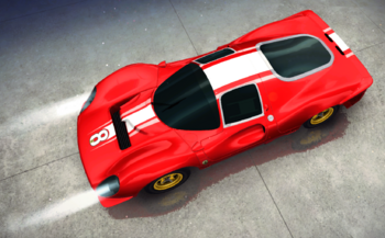 Ferrari P4 decal