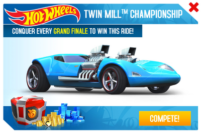 Hot Wheels Twin Mill™ Championship Promo
