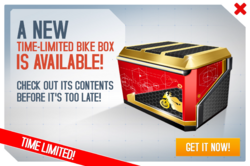 Box bike ad