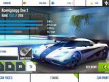 Koenigsegg One:1 (stats)