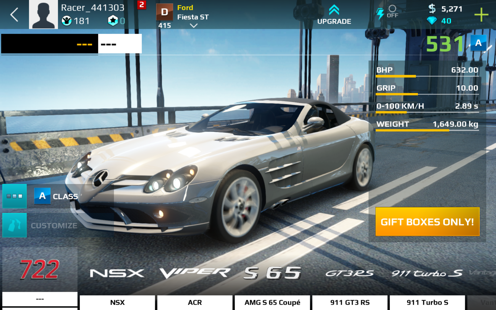 Mercedes Benz Slr Mclaren 722 Edition Asphalt Wiki Fandom Powered By Wikia