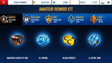 TVR Amateur League Rewards