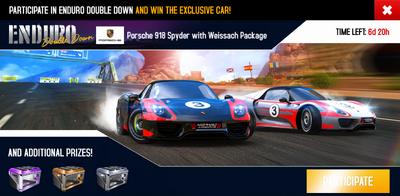 Enduro Challenge ad (Porsche)