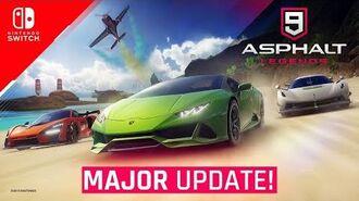 Asphalt 9 Nintendo Switch - Major Update