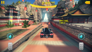 The Great Wall festive area
