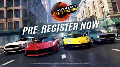 Asphalt Street Storm Racing Pre-Registration Trailer