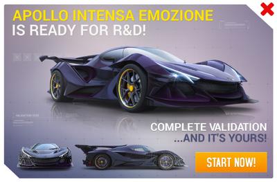 Apollo Intensa Emozione R&D Promo