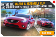 Mazda 6 Assembly Cup Promo