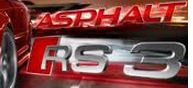 Asphalt audi rs3