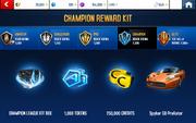 Black Ice 1 Champion League Rewards