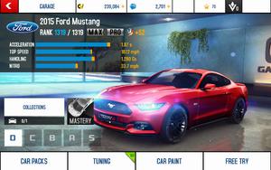 A8 Mustang stats (MPTK MPH)