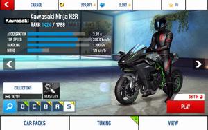 Ninja H2R stats (S KMH)
