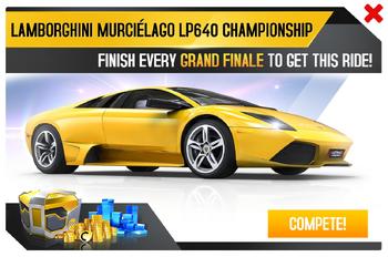 Lamborghini Murciélago LP 640 Championship Promo