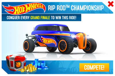 Hot Wheels Rip Rod™ Championship Promo