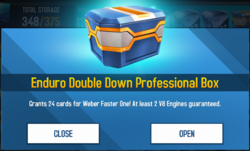 Box Enduro Double Down Professional