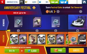 I.D. R. Festival Rewards