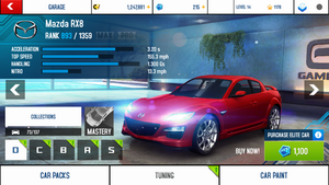 Mazda RX8 stock + price