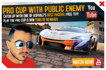 Cup ad Public Enemy PRO Cup