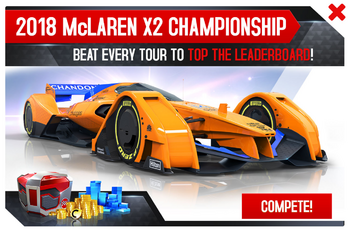 2018 McLaren X2 Championship Promo