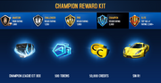 SIN R1 Champion League Rewards