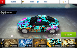 A8 FR-S Decal 7