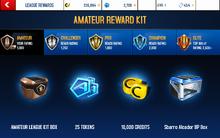 Alcador Amateur League Rewards