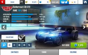 A8 D8 GTO stats (S MPH v4.3)