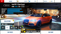 Audi RS 3 Sportback maxed out