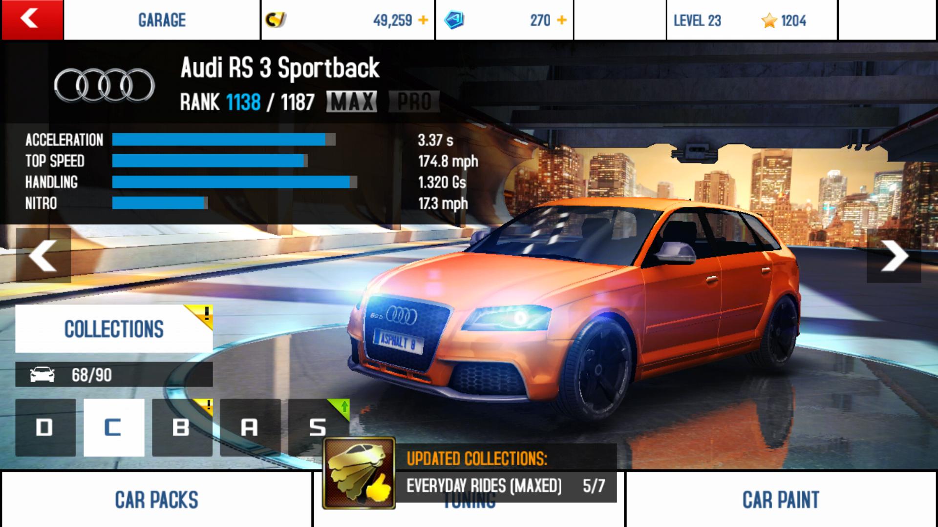 Audi RS Sportback Asphalt Wiki FANDOM Powered By Wikia - Audi car wiki