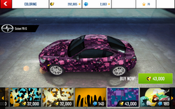 A8 FR-S Decal 10