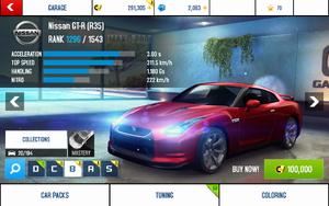 A8 GT-R stats (S KMH)