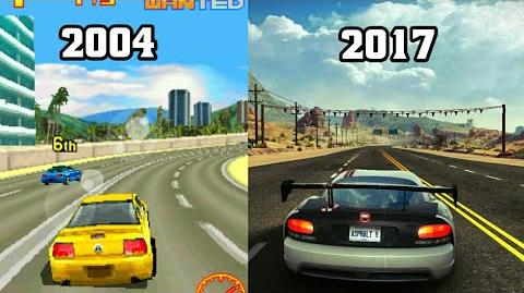 History of Asphalt 2004-2017 Evolution of Asphalt Graphics 2004-2017