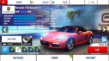 A8A Porsche 718 Boxster S stock+BP