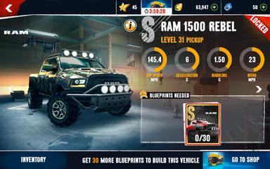 AX Ram 1500 stats (S)
