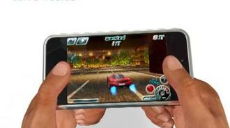 Asphalt 4 Elite Racing iPhone iPod touch trailer