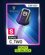 Rimac Car Key